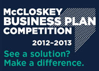 2012-13 McCloskey Business Plan Competition