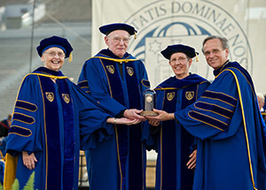 2013 Laetare Medalists and Notre Dame President Rev. John I. Jenkins, C.S.C.