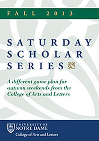 Saturday Scholars 2013
