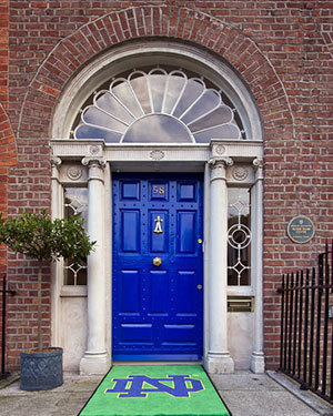 Door of O'Connell House, Dublin