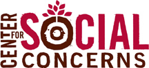 Center for Social Concerns Logo