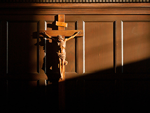 Oak Room crucifix