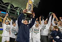 The 2013 men's soccer team won the national NCAA championship