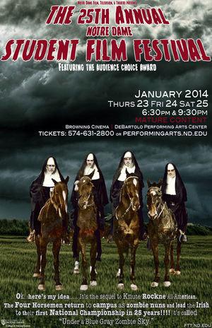 25th Annual Notre Dame Student Film Festival
