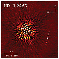 Direct image detection of a rare brown dwarf companion taken at Keck Observatory (Crepp et al. 2014, ApJ)