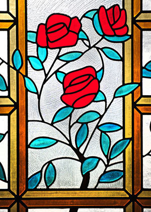 Malloy Hall stained glass window
