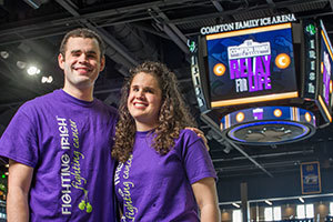 Patrick and Shannon Deasey, honorary chairs of the 2014 Relay for Life