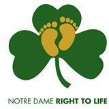 Notre Dame Right to Life logo