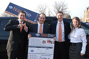 NanDio team for McCloskey Business Competition