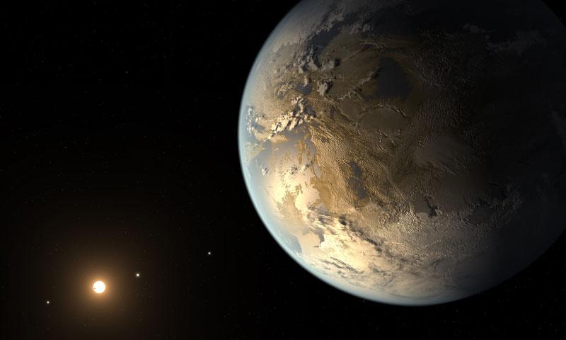 Kepler 186f artist concept