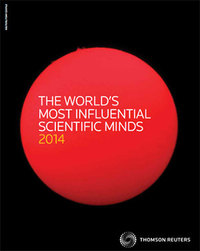 Thomson Reuters The World's Most Influential Scientific Minds: 2014
