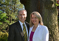 Mark Gallogly and Lise Strickler