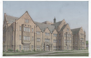 Rendering of Jenkins Hall