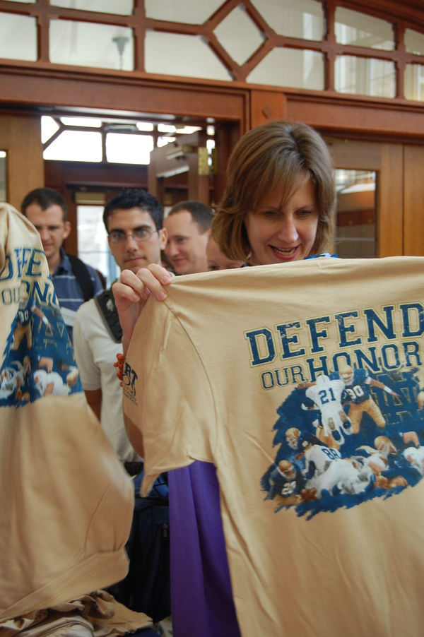 New faculty receive The Shirt