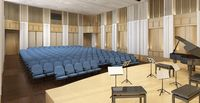 Campus Crossroads recital hall