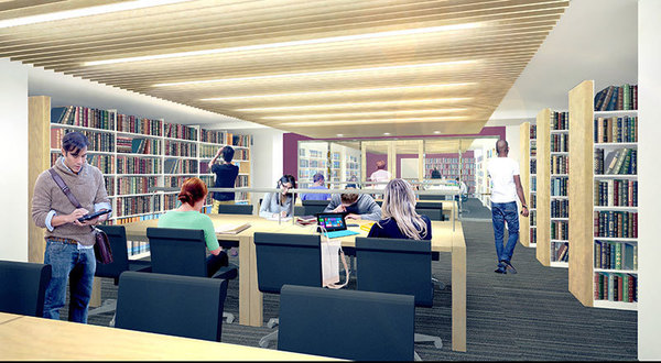 Library renovation - Level 10 reading room