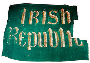 Ireland 1916 flag (credit: National Museum of Ireland)