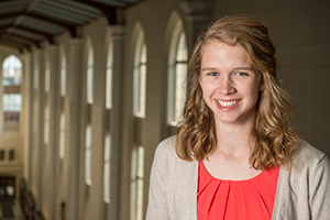 Anna Kottkamp, 2015 University of Notre Dame Valedictorian