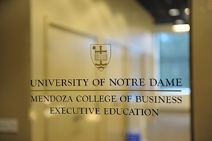 Mendoza College of Business Executive Education