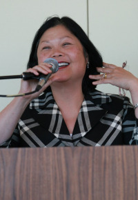 Carolyn Woo at United Nations