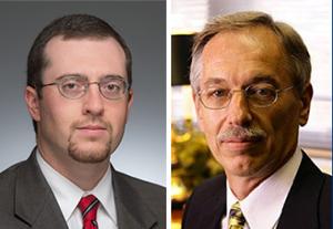 Thomas Juliano, left, and Thomas Corke