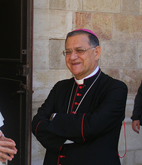 Fouad Twal, the Latin Patriarch of Jerusalem