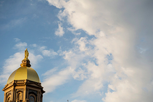 Golden Dome at dusk