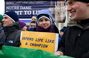 The 2013 March for Life in Washington, D.C.