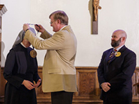 The 2016 Evangelium Vitae Medal Is Bestowed Upon Mother Provincial Sister Loraine Marie Maguire And The Little Sisters Of The Poor