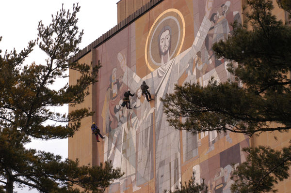 "Maintaining ""Touchdown Jesus"""