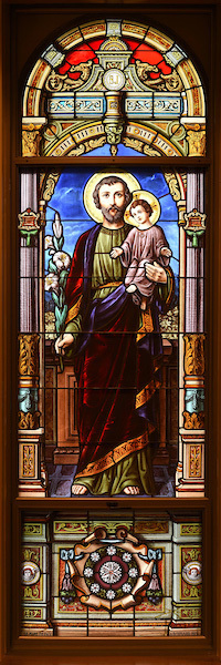 St. Edward's Chapel Joseph Window