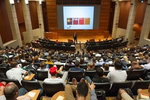 "PWC chairman Bob Moritz, speaks at Mendoza College of Business as part of the 2013 ""Boardroom Insights"" lecture series"