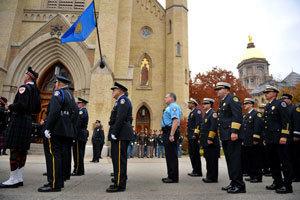 Notre Dame Blue Mass