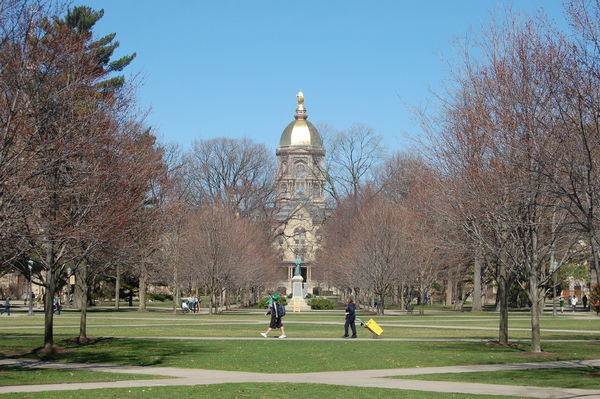 Mid-March at Notre Dame