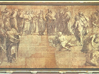 Raphael's Cartoon for the School of Athens