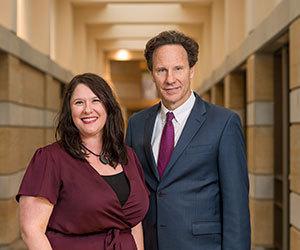 Tracy Kijewski-Correa and Steve Reifenberg