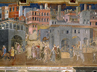 Ambrogio Lorenzetti Effects Of Good Government In The City