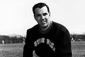 Former football coach Ara Parseghian