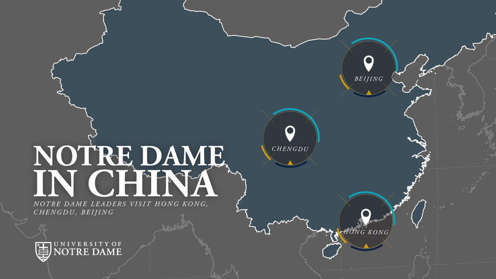 Notre Dame in China