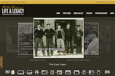 Hesburgh Portal Homepage