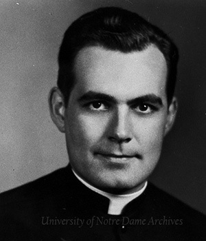 Fr. Hesburgh Portrait