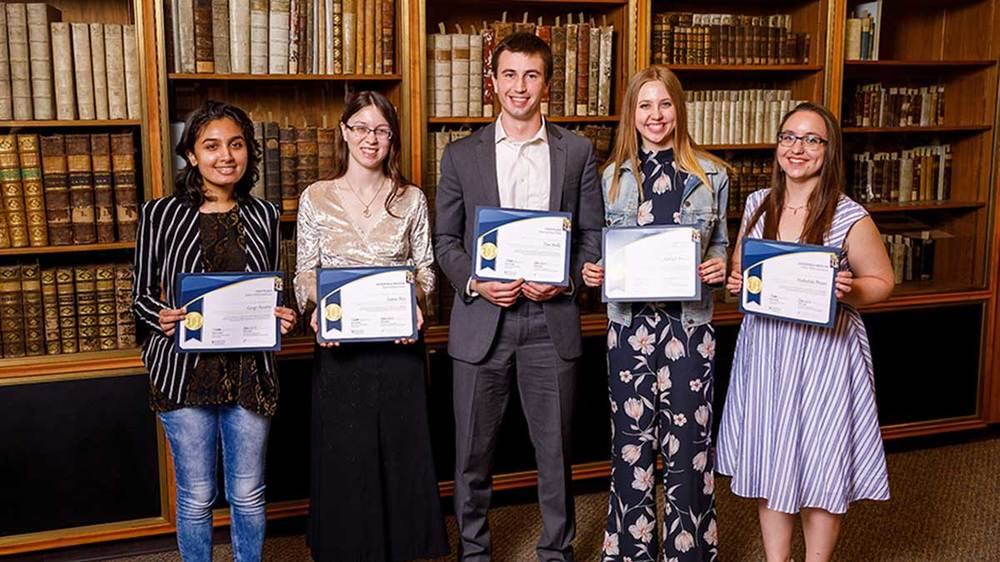 Undergraduate Library Research Awards