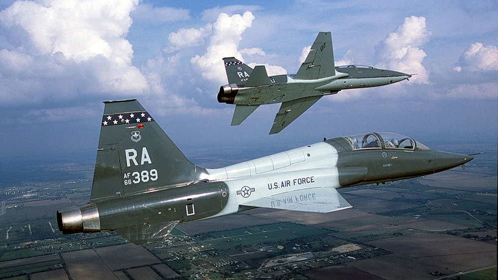 Air Force T-38s