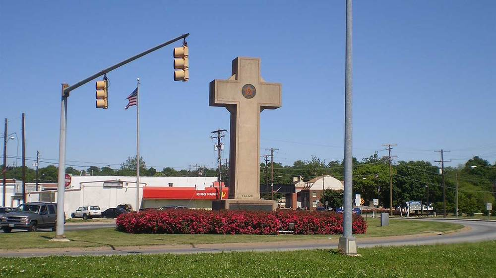 World War I Memorial, Bladensburg, Maryland. Photo by Ben Jacobson.