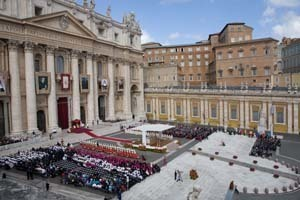 Canonization in Rome