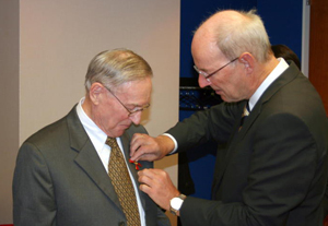 Donald Kommers Receives the Officer's Cross of the Order of Merit
