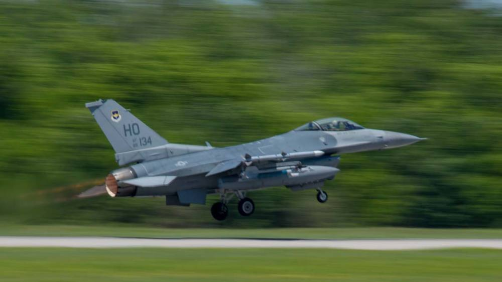 F-16 Fighting Falcon Aircraft
