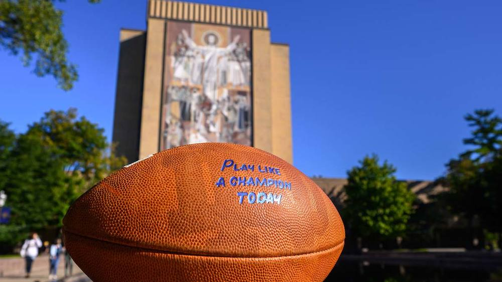 Gameday. Photo by Matt Cashore/University of Notre Dame.
