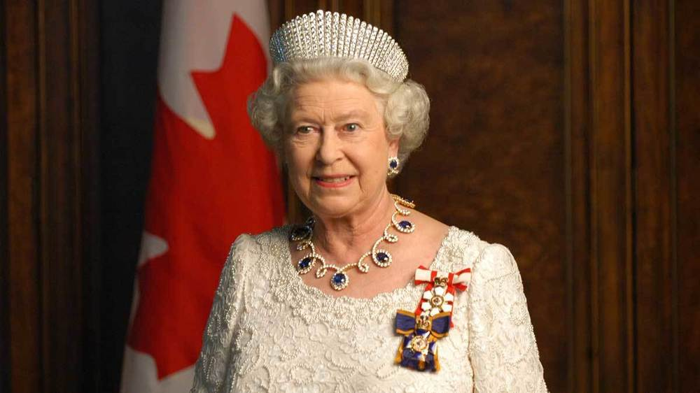 Queen Elizabeth II. Photo by Government of Alberta.