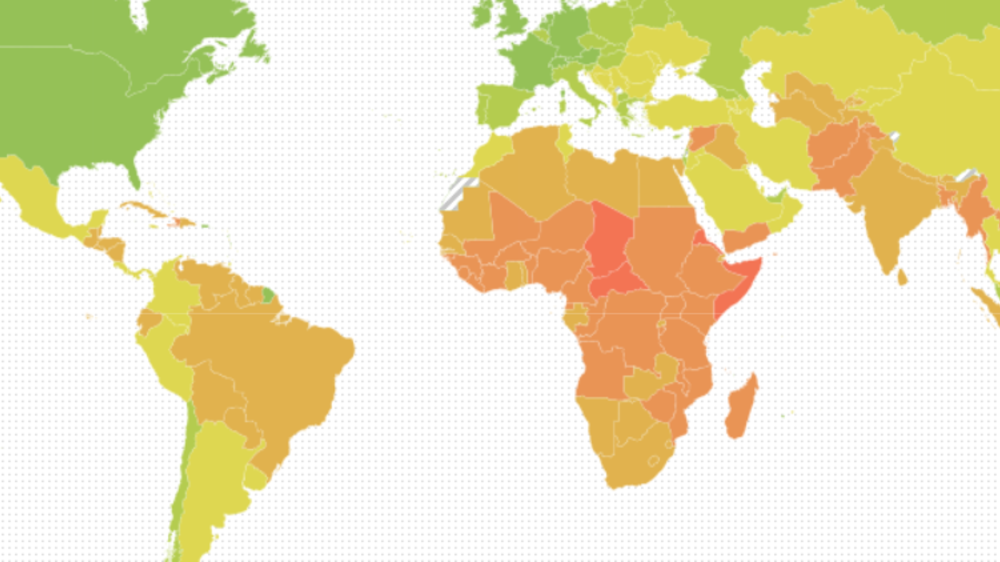 Notre Dame's Global Adaptation Initiative (ND-GAIN) Country Index